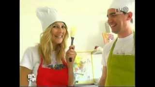Lezione Di Cucina  Leoni Francesco A Due Star Televisive Arianna Ciampoli & Antonio Soviero