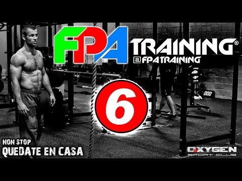 """FPA 3X8 Entrenamiento Nº 6 """"YO ME QUEDO EN CASA"""""""