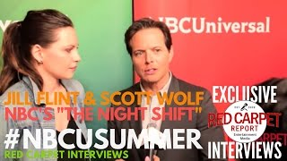 Interview de Jill Fint & Scott Wolf - NBC Summer 2017