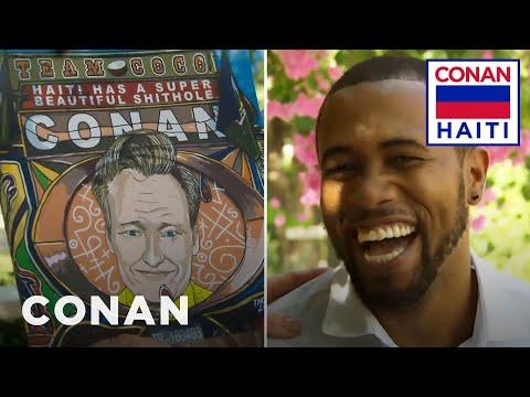 Conan na Haiti #5: Portrét od Thonyho