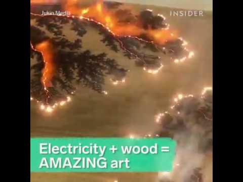 Muster in Holz brennen Neu