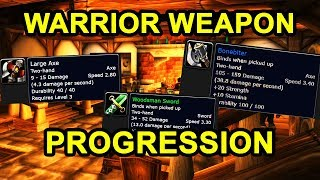 Classic WoW: Warrior Weapon Progression Guide