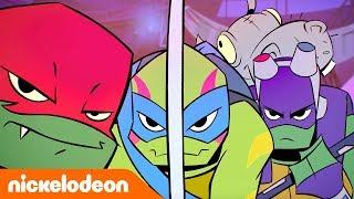 Эволюция Черепашек-ниндзя   Подарки Донни   Nickelodeon Россия