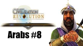 Civilization Revolution - Arabs 8 of 8 Tutorial Gameplay Deity