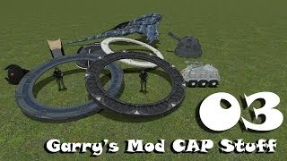 [CZ] Garry's Mod - CAP Stuff - #3 Zdroje energie, Asgard Transporter podrobně