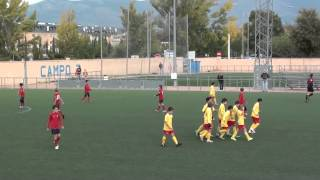 preview picture of video 'UNION COLLADO VILLALBA A 4-0  C.D. ALPEDRETE'