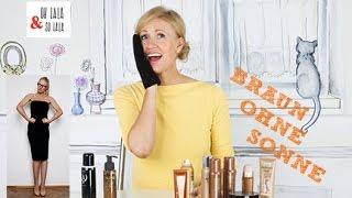 Selbstbräuner im Test * Braun ohne Sonne * Die 3 besten Produkte * Kosmetik ohne Tierversuche