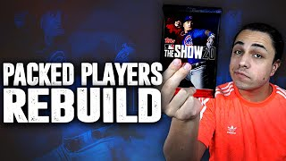 i rebuild a team using only players i packed | MLB the Show 20