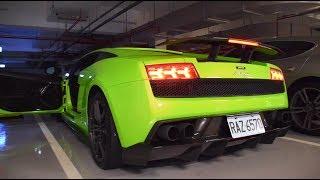 Lamborghini Gallardo Sound Compilation( Start Ups, Revs, Brutal Acceleration)