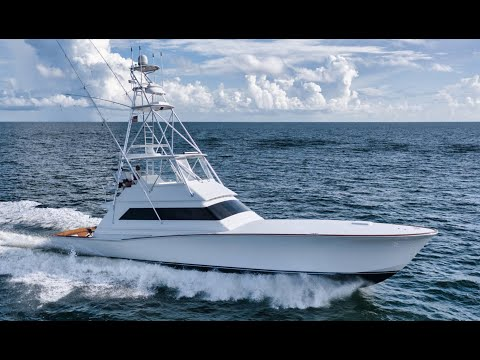 Jim Smith Custom 60 Sportfish Convertible video