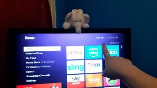 How to conect roku remote app when devices doesn't have WIFI