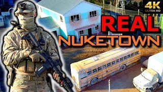 Pro Airsoft Player On REAL LIFE 1:1 NUKETOWN 😱