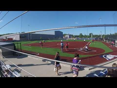 Kara pitching 2nd inning vs IC City