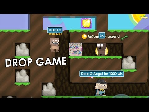 GrowTopia | Drop Game Scammer Fail !! OMG!!