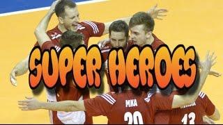 """Siatkarze Polscy - """"Super Heroes"""""""