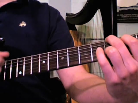 Beginner Guitar Lessons easy folk Open Chord Embellishment