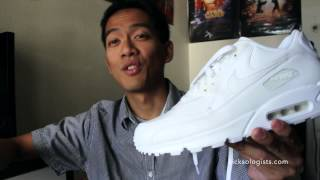 Nike Air Max 90 White | Kicksologists.com