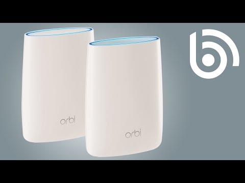 NETGEAR RBR50 Orbi AC3000 Tri-Band WiFi 5 Mesh Router w/ 1 x RBS50