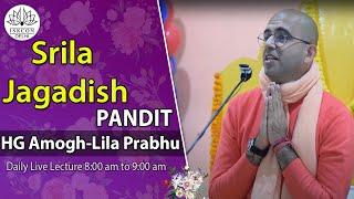 Lecture On Srila Jagadish Pandit By HG Amogh-Lila Prabhu On 12th Jan 2014.