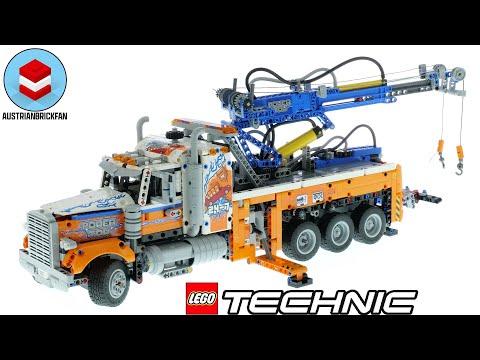 Vidéo LEGO Technic 42128 : Le camion de remorquage lourd