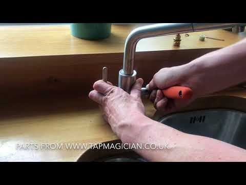 How to change the cartridge in Franke Maris Kitchen Tap