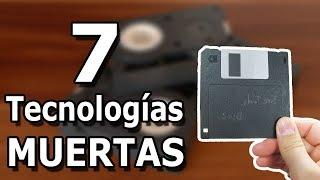 Las 7 tecnologías que ya murieron