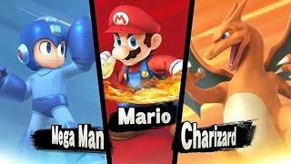 Super Smash Bros 4 All New 3DS Commercials 【HD】