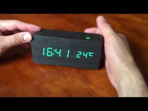 Unboxing reloj despertador digital AJ6035
