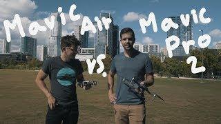 DJI AIR vs. MAVIC 2 PRO - is it worth it?