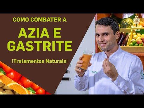 Como combater a Azia e a Gastrite| Tratamentos Naturais | Saúde Total
