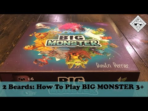 2 Beards: How To Play Big Monster 3+ Players