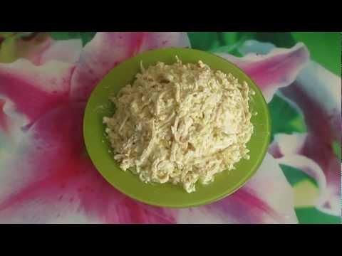 Классический салат из кальмаров - Вкусно и Просто