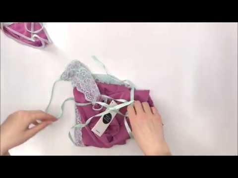 Košilka Lilac chemise - Obsessive