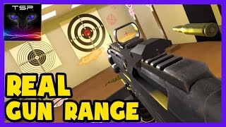 Trigger Happy Shooting #1 - REAL GUN RANGE in Virtual Reality (HTC Vive)