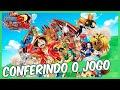 One Piece Unlimited World Red Conferindo O Jogo