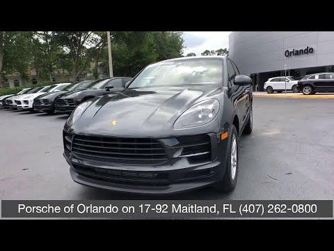 2019 Porsche Macan Orlando, Winter Park, Windermere, Metro West, Lake Mary, FL KLB05295