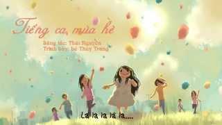 TIẾNG CA MÙA HÈ   bé Thùy Trang   Thái Nguyên Music