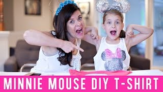 Minnie Mouse T-Shirt {Disney DIY}