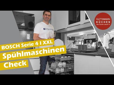 Wir testen bzw. checken eine Bosch Spülmaschine der Serie 4