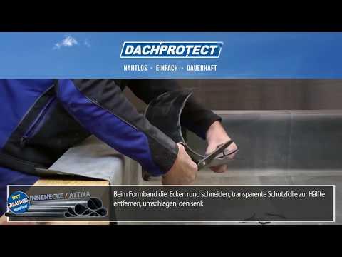 EPDM Dachfolie 1,5mm Breite: 3,05 m Video