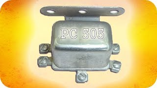 Реле стартера РС505 Ремонт трактора МТЗ-80