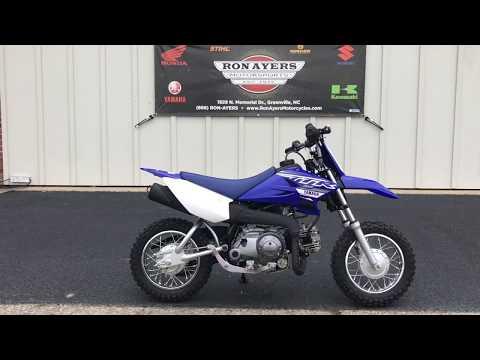2019 Yamaha TT-R50E in Greenville, North Carolina - Video 1