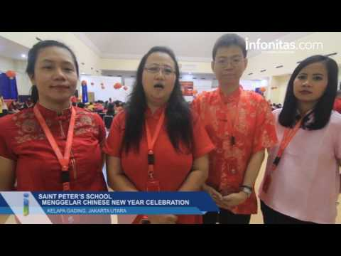 Saint Peter's School Menggelar Chinese New Year Celebration