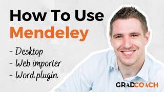 How to use Mendeley Desktop, Web Importer & MS Word Plugin (Full Tutorial)