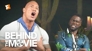 Dwayne Johnson & Kevin Hart Talk Body-Swapping and 'Black Adam' | Jumanji: The Next Level Interview