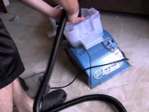 Hoover Steamvac Spinscrub - How To Attach Hose and Spin Tool