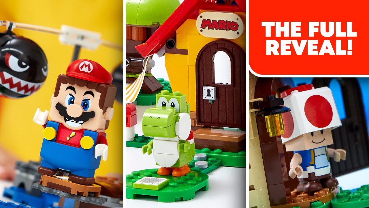 8 NEW LEGO Super Mario Expansion Sets!