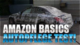 AmazonBasics Autowäsche mit allen Autopflegeprodukten