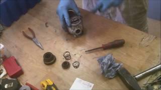 how to repair dewalt D25123 hammer drill disassemble armature remove