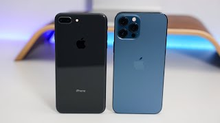 Apple iPhone 8 Plus vs Apple iPhone 12 pro Max - Which Should You Choose?